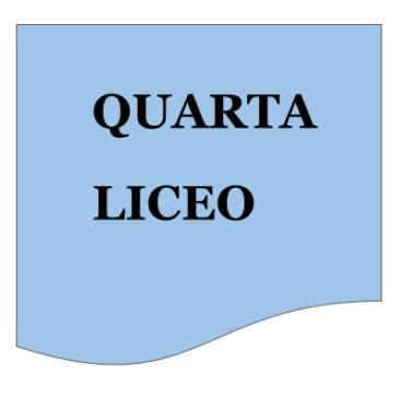 Classi QUARTE LICEO