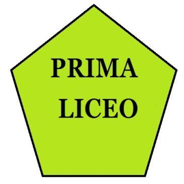 Classi PRIME LICEO