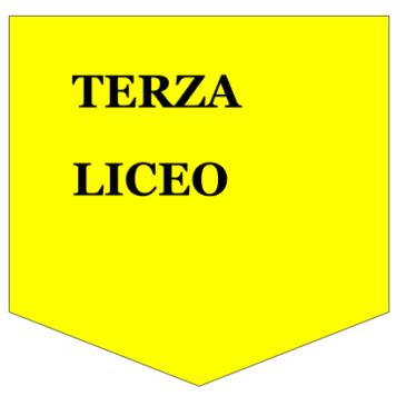 Classi TERZE LICEO