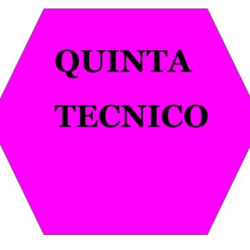 Classi QUINTE TECNICO