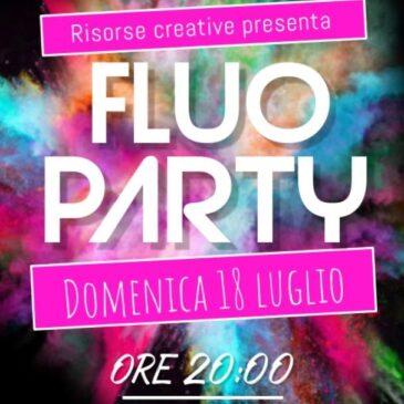 18 Luglio: Fluo party