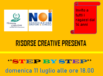 11 Luglio 2021: Step by Step